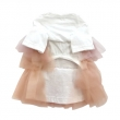 LD Organic Tulle Dress チュールドレス PK